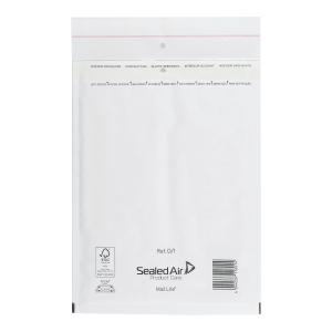 BOX10 AIR CUSHIONED ENV 18X26CM WHITE