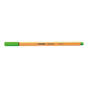 STABILO POINT 88 FINELINER 0.4MM GREEN
