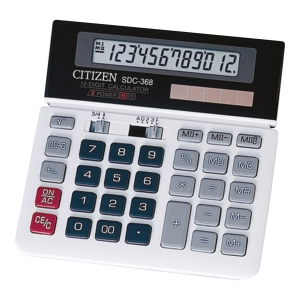 Kalkulator nabiurkowy CITIZEN SDC 368