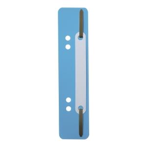 Wąsy do skoroszytów DURABLE niebieskie opakowanie 25 sztuk