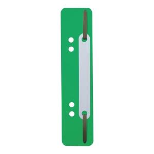 Wąsy do skoroszytów DURABLE zielone opakowanie 25 sztuk
