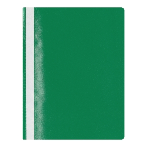 Lyreco Budget Green A4 Project Files 25 Sheet Capacity - Pack Of 25
