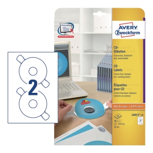 PK25SHT AVERY 6015 CD LAB+POSITION GUIDE