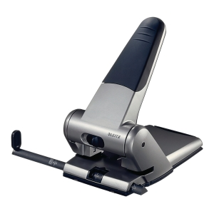 Leitz NeXXt Series 5180 Heavy Duty 65 Sheet 2 Hole Punch - Silver