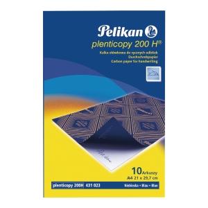 Kalka PELIKAN ołówkowa, niebieska, 10 arkuszy