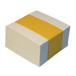 Wkład białych kartek 85x85 mm