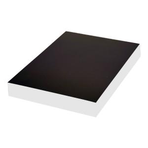PACK 100 COVERS BIND A4 CHROMOLUX BLACK