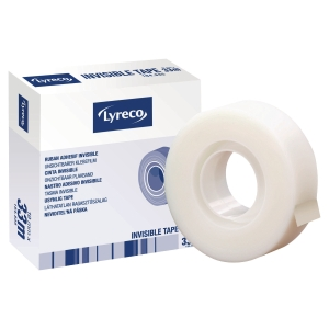 Lyreco Invisible Sticky Tape - 19mm X 33M Roll