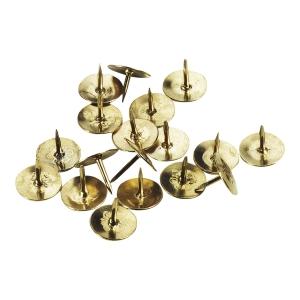 Pinezki złote, w opakowaniu 100 sztuk