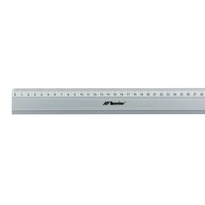 RULER ALUMINIUM 500MM