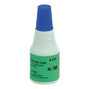 Tusz NORIS 210 do stempli metalowych, niebieski