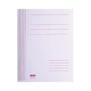 Skoroszyt BIGO kartonowy, biały