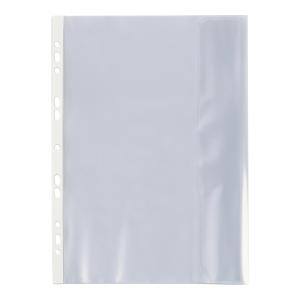 Koszulki groszkowe BIURFOL z klapką boczną B4, 100 mikronów, opakowanie 25 sztuk