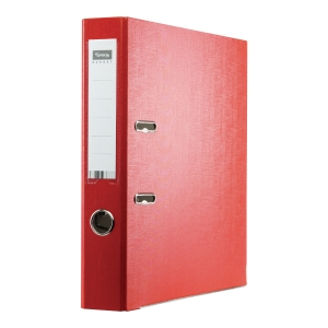 IMPEGA BUDGET L/ARCH FILE PP A4 50MM RED