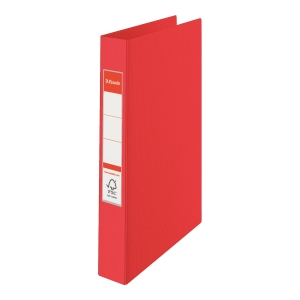 2-RING BINDER A4 35MM RED