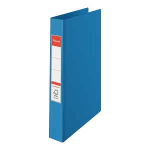 4-RING BINDER A4 35MM BLUE