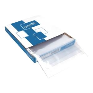 Koszulka krystaliczna BANTEX, A4 U, 45 mikronów, pudełko 100 sztuk
