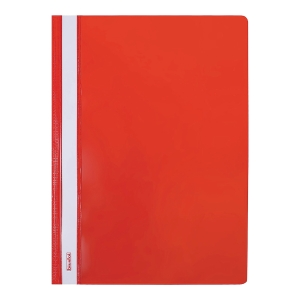 Skoroszyt BIURFOL A4 sztywny, czerwony