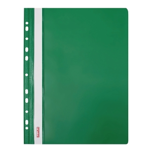FILE PUNCHED GREEN BACK