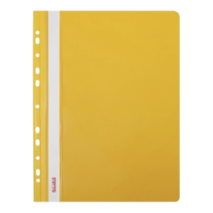FILE PUNCHED YELLOW BACK