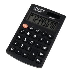 Kalkulator kieszonkowy CITIZEN SLD 200 N
