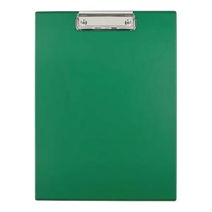 Deska z klipem zielona A4