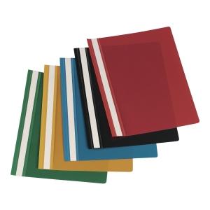 Skoroszyt LYRECO sztywny PVC, czarny