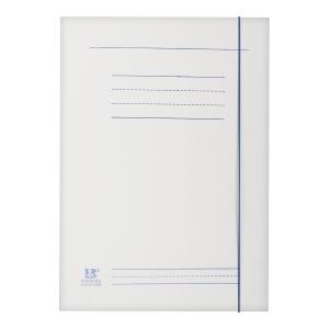 Teczka z gumką BARBARA 821003, 250g, biała