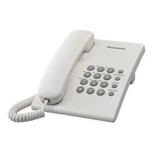 Telefon stacjonarny PANASONIC KX-TS 500, biały