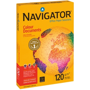 Papier NAVIGATOR Colour Documents A4, 120g/m², 250 arkuszy