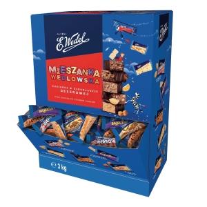 Cukierki MIESZANKA WEDLOWSKA Classic, 3 kg w formie dyspensera
