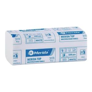 Ręczniki papierowe MERIDA Ideal, składka V, 20 x 160 listków