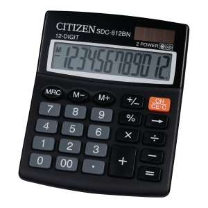 Kalkulator nabiurkowy CITIZEN SDC 812BN