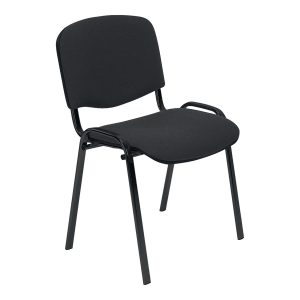 ISO BLACK C-38 CONFERENCE CHAIR D/GRY