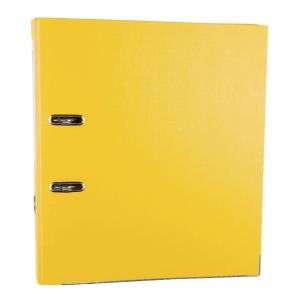 Segregator z mechanizmem LYRECO Budget A4 50 mm żółty