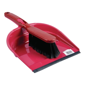 MALTEX BRUSH+DUSTPAN PVC ASST COL