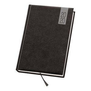 Kalendarz DAN-MARK Topaz A5, dzienny, czarny
