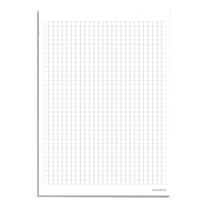 Blok do flipcharta 2x3, kratka, 99 x 60 cm, 20 kartek