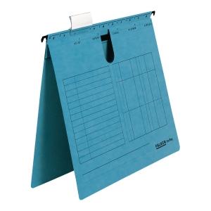 Skoroszyt zawieszkowy FALKEN A4 niebieski opakowanie 25 sztuk