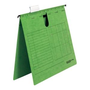 Skoroszyt zawieszkowy FALKEN A4 zielony opakowanie 25 sztuk