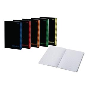 Zeszyt TOP-2000 Office, A4, kratka, 80 kartek, margines, szyty