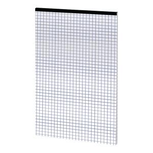 Blok notatnikowy TOP-2000 Office, A5, kratka, 50 kartek, szyty, bez okładki