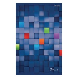 Brulion TOP-2000 Office, A5, kratka, 96 kartek, twarda okładka*