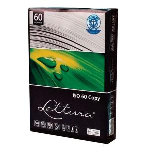 Papier LETTURA ekologiczny A4 80g biały, w opakowaniu 5 ryz po 500 arkuszy