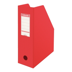 FILING BX PVC 10CM RED