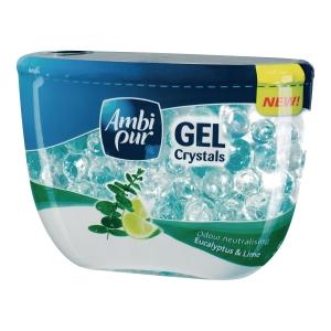 Odświeżacz powietrza AMBI PUR Crystals, zapach eukaliptus i limonka, 150 g