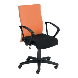 Krzesło NOWY STYL Dexter, pomarańczowo-czarne