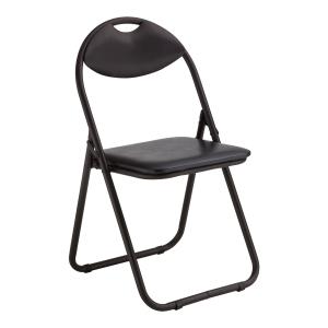 Krzesło NOWY STYL Kari, czarne, składane
