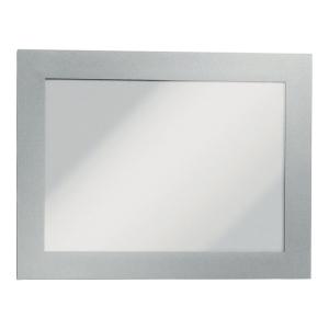 Samoprzylepna ramka informacyjna Durable Duraframe A6 srebrna*