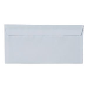 Koperty DL z paskiem, białe, w opakowaniu 50 sztuk